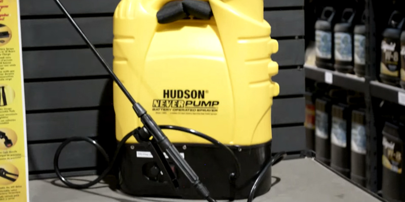 Hudson 13854 Battery Operated application