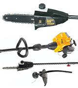 Poulan Pro 967228702 PP28PDT 25cc Pole Saw and Trimmer