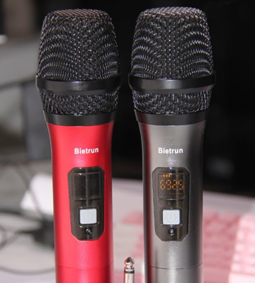 Review of Bietrun 260ft Range UHF Wireless Microphone for Karaoke