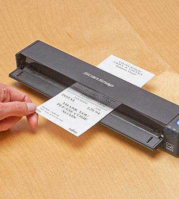 Review of Fujitsu ScanSnap Wireless Mobile Scanner