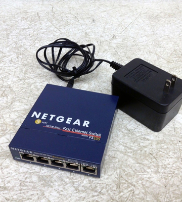 Review of NETGEAR FS105NA 5-Port Fast Ethernet Unmanaged Switch
