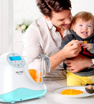 Review of MLITER All in One Baby Food Maker with Steam Cooker, Blender, Chopper, Sterilizer & Warmer