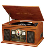 Victrola VTA-200B MH 6-in-1, Turntable with Bluetooth