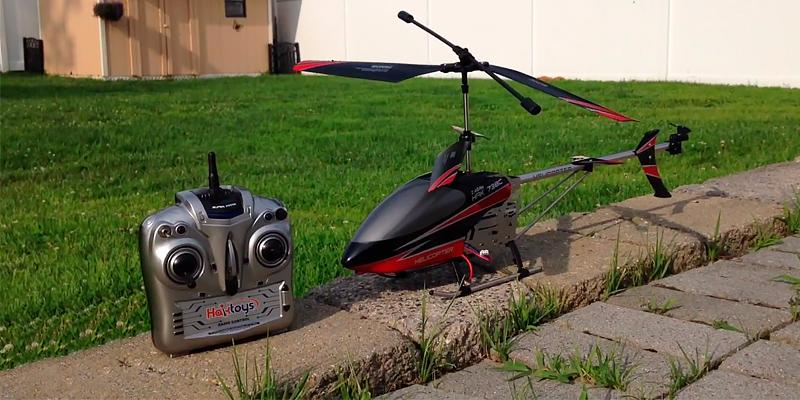 "Detailed review of Haktoys HAK635C 17"" Video & Photo Camera 3.5CH Helicopter"