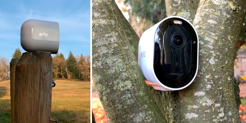Review of Arlo Pro 3 Indoor/Outdoor Wire-Free Security 2 Camera System
