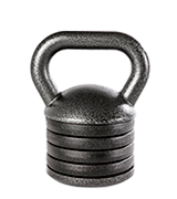 Apex APKB-5009 Adjustable Heavy-Duty Exercise Kettlebell Weight Set