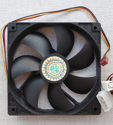 Review of Cooler Master R4-S2S-124K-GP Sleeve Bearing 120mm Silent Fan for Computer Cases, CPU Coolers, and Radiators (Value 4-Pack)