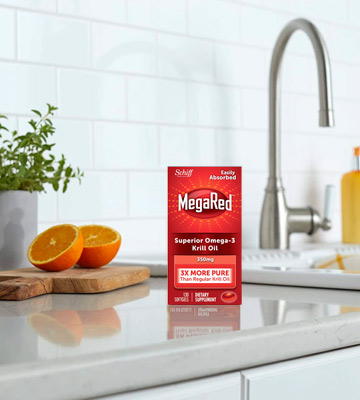 Review of MegaRed (350mg) Omega-3 Krill Oil