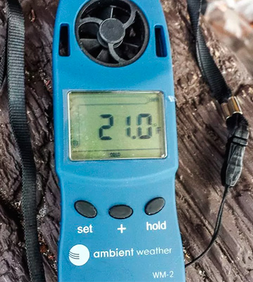 Review of Ambient Weather WM-2 Wind Anemometer