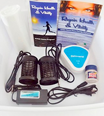 Review of Better Health Company Regain Health & Vitality Detox Foot Spa Machine