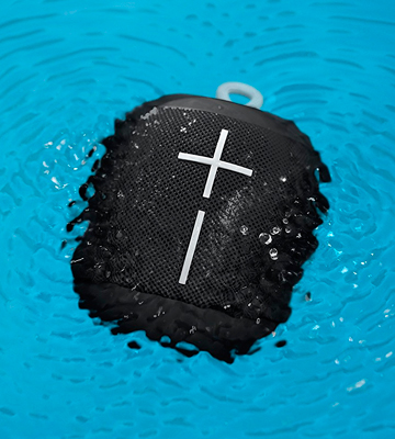 Review of Ultimate Ears WONDERBOOM IPX7 Waterproof Portable Bluetooth Speaker