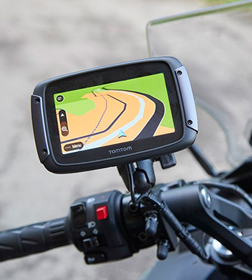 Review of TomTom Rider 550 Motorcycle GPS Navigation Device