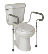 Medline G30300H Guardian Toilet Safety Rail with adjustable height