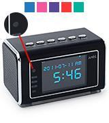 Jumbl JU-SC02B Mini Hidden Spy Camera Radio Clock