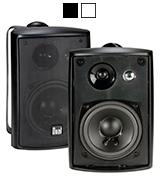 Dual LU43PB 3-Way High Performance Indoor/Outdoor Speakers with Swivel Brackets
