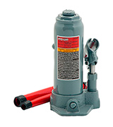 Pro-Lift B-004D Grey Hydraulic Bottle Jack (4 Ton Capacity)