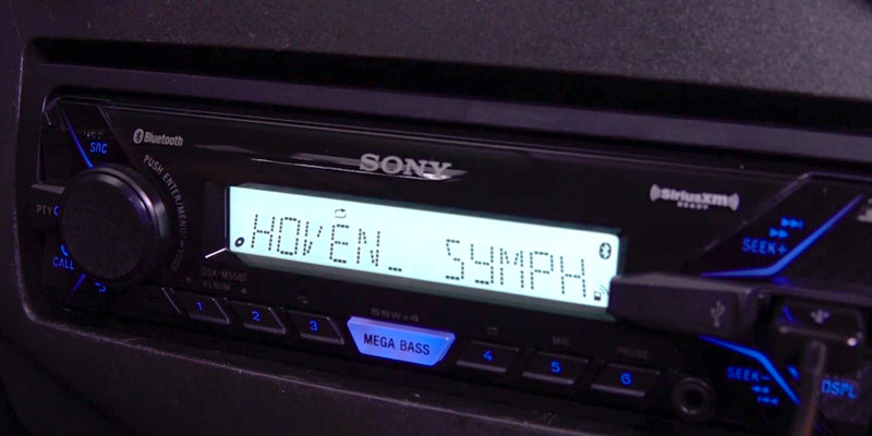 Review of Sony DSX-M55BT Digital Media Stereo Receiver