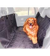 BarksBar Luxury Pet Car Seat Cover with Seat Anchors for Cars, Trucks, and Suv's