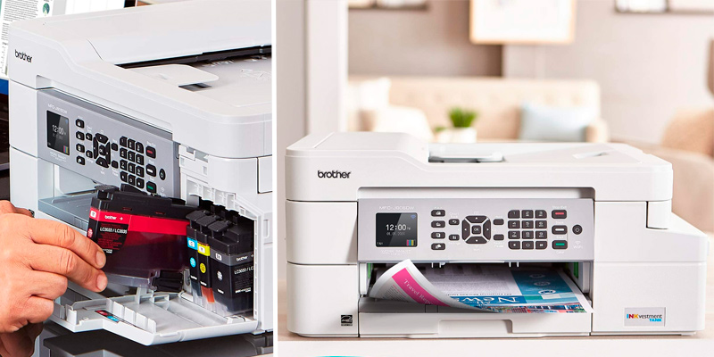 Review of Brother MFC-J805DW XL All-in-One Color Inkjet Printer