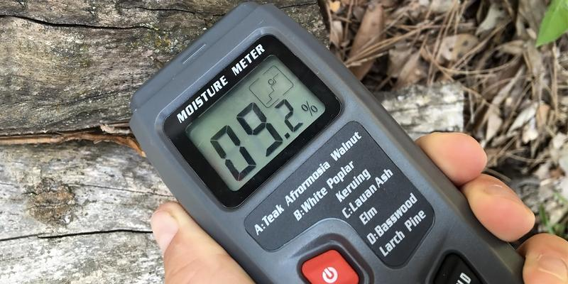 Review of RISEPRO MT-10 Digital Moisture Meter 2 pins Wood Moisture Tester Water Content