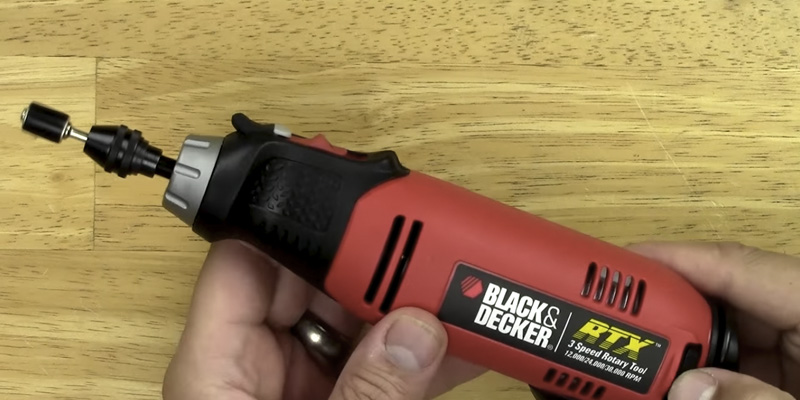 Detailed review of Black & Decker RTX-B Rotary Tool Kit