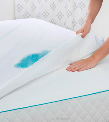 Review of Linenspa LS0PQQMP Premium Smooth Fabric Mattress Protector