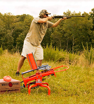 Review of Do-All Outdoors Fowl Play Automatic Clay Pigeon Skeet Thrower Trap