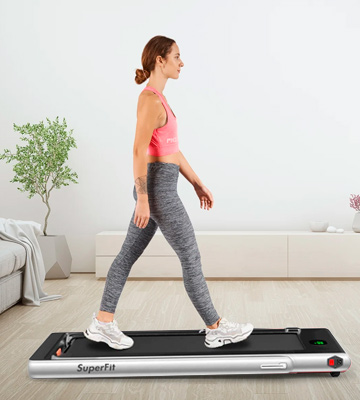 Review of Goplus 2 in 1 Walking/Running Folding Treadmill