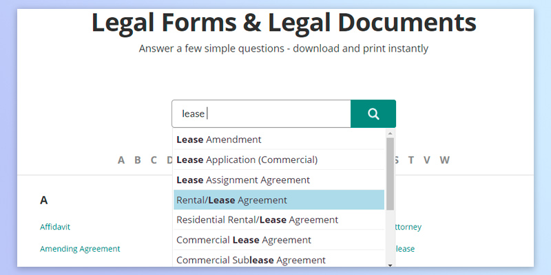 5 Best Lease Agreement Forms Reviews Of 2018 Bestadvisor