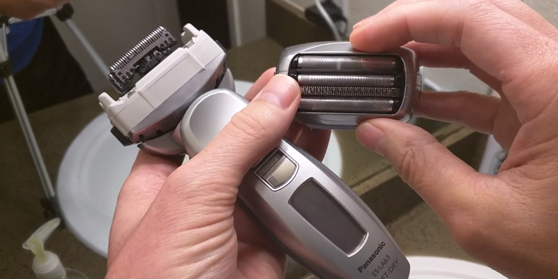 Review of Panasonic ES-LA63-S Arc4 4-Blade Dual-Motor Wet/Dry Shaver