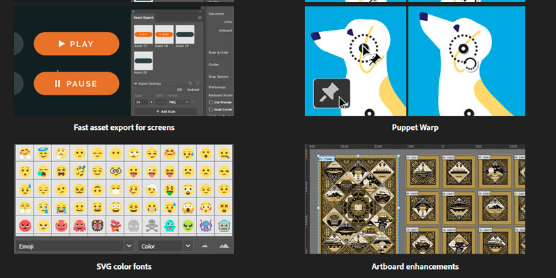 Adobe Illustrator CC The state of the art of illustration in the use