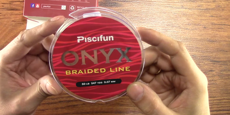 Review of Piscifun Onyx Braided Fishing Line