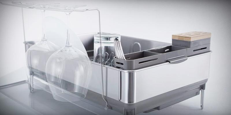Detailed review of Simplehuman Dish Rack Stainless Steel