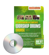 Musicademy Worship Drums for beginners