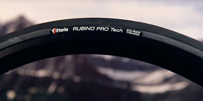 Vittoria Rubino Pro III Fold Tire in the use