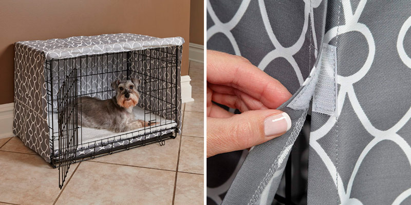 Review of MidWest Homes for Pets Dog Crate Cover Privacy Dog Crate Cover Fits MidWest Dog Crates