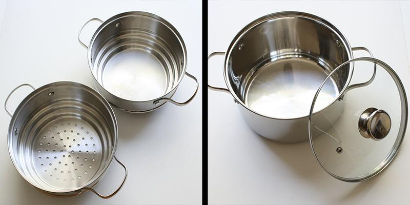 Review of Cook N Home 4 Qt. Double Boiler and Steamer Set