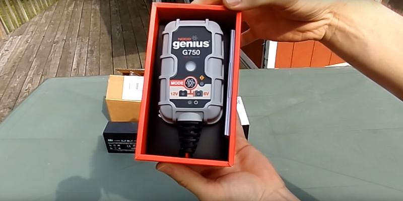 Review of NOCO Genius G750 UltraSafe Smart Battery Charger