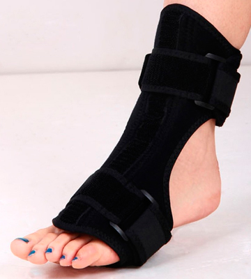 Review of ATTICAN Dorsal Night & Day Splint Drop Foot Orthotic Brace