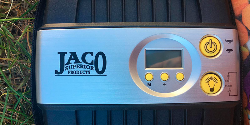 Review of JACO Premium Digital Tire Inflator - Portable Air Compressor Pump