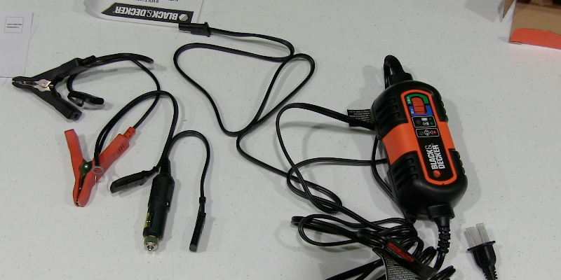Black & Decker BM3B Battery Charger / Maintainer application