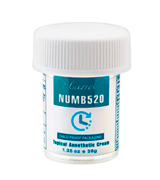 Ebanel Laboratories NUMB520 5% Lidocaine Topical Numbing Cream for Painkilling