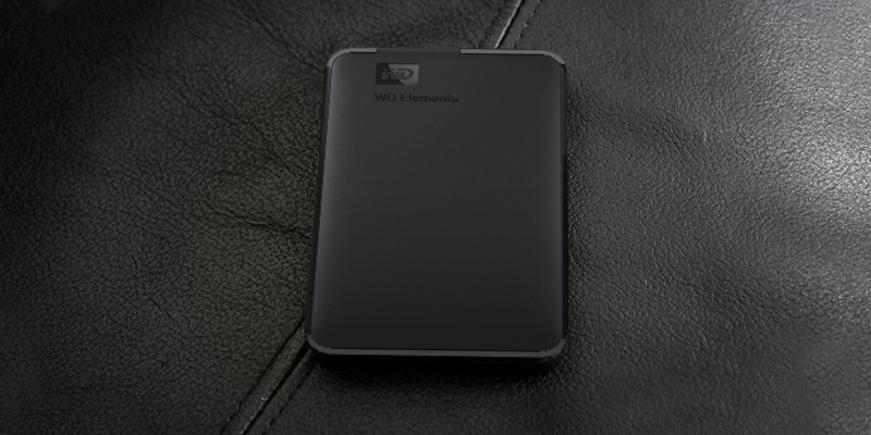 Western Digital Elements Portable External Hard Drive application