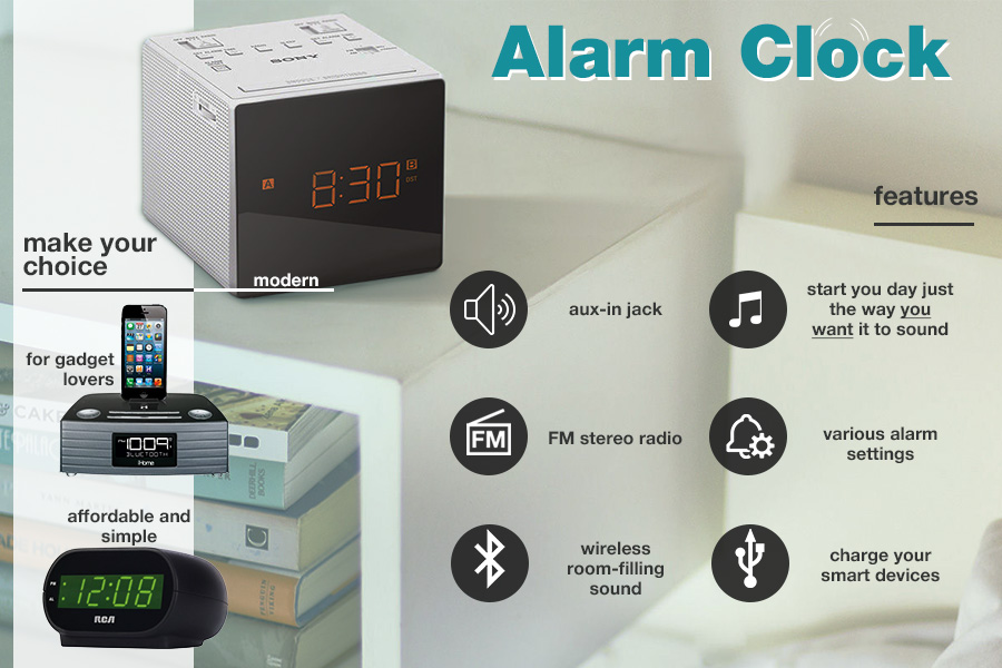 Comparison of Alarm Clocks