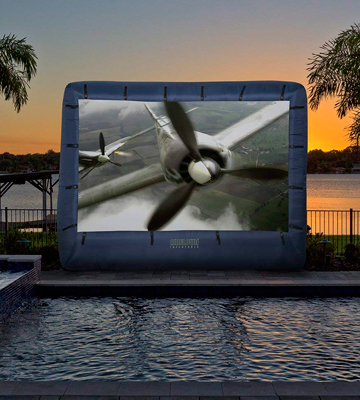 Review of Gemmy 39121-32 Inflatable Movie Screen