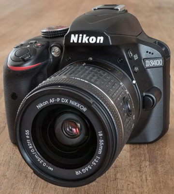 Review of Nikon D3400 DSLR Camera w/ AF-P DX NIKKOR 18-55mm f/3.5-5.6G VR