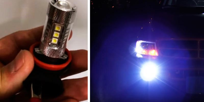 SiriusLED H8 Size DRL LED Fog Light in the use