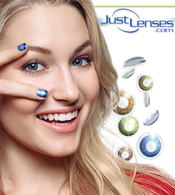 Review of Just Lenses Color Disposable Contact Lenses