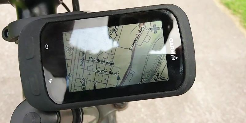 Garmin Edge 1000 Touchscreen GPS application