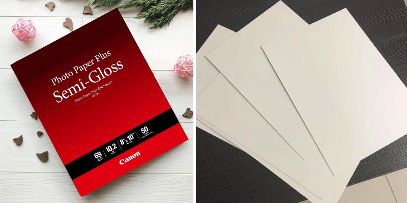 Review of Canon 50-Pack Photo Paper Plus Semi-Gloss